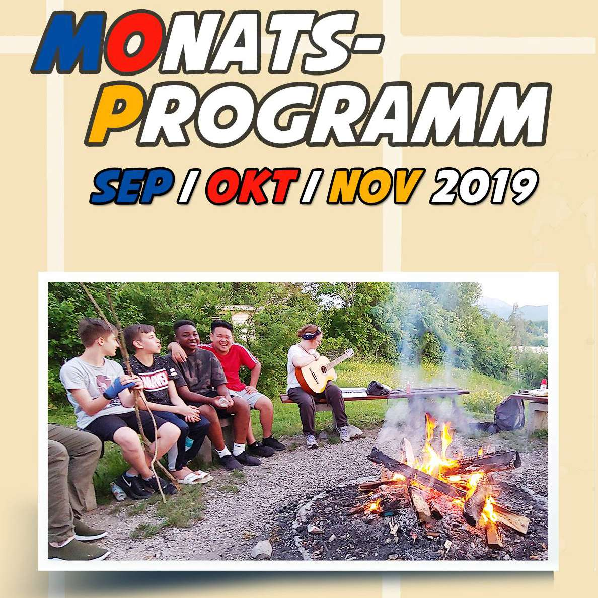 Titelbild Monatsprogramm